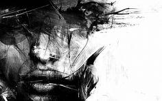 Πορτραίτο Ψηφιακή Τέχνη Ταπετσαρία
