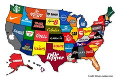 The Most Famous Brand From Every State | Mental Floss