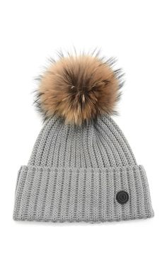 65065eabec2 Leonie Wool-Blend Pom-Pom Beanie by BOGNER Now Available on Moda Operandi  Ski