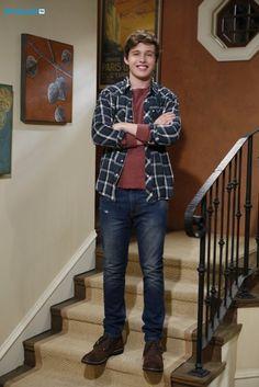 Nick Robinson as (Ryder) #MelissaAndJoey