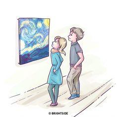 Body language never lies.