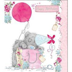 Cute Tatty Teddy ~ Happy Birthday.