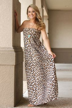 Looking At You Leopard Maxi – The Palm Tree Boutique