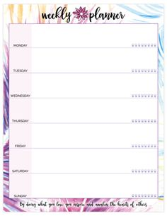 Double Sided Weekly Planning Pad, Peacock, x Bloom Planner, Happy Planner, Daily Planner Printable, Weekly Planner, Planner Template, Welcome May, Brain Dump, Bullet Journal Ideas Pages, How To Stay Healthy