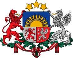 Latvian coat of arms