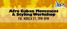 Join Dreyser in this 2 hour workshop and learn how to incorporate the elements and techniques of Afro-Cuban traditional folk social dances (Rumba) and trad