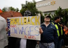 Surprise! Walmart announces 10% decline in earnings after caving to pressure to raise minimum wage of employees - This is what happens when you follow the advice of people who don't understand economics. Walmart is suffering the consequences of raising the starting pay-rate of their employees, after much ballyhoo from protestors (mostly from…