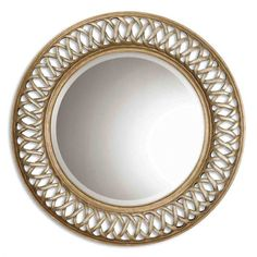 """Uttermost  Entwined Wall Mirror 45"""" x 45"""""""