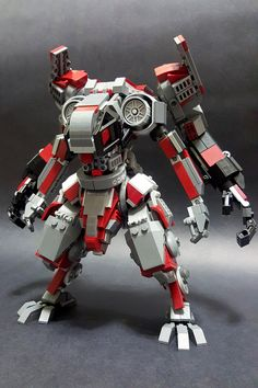 Dieser vierarmige Mech ist zu gut The Brothers Brick – Lego – This four armed 'Mech is too good The Brothers Brick – Lego – Lego Ninjago, Robot Lego, Lego Bots, Lego Spaceship, Lego Batman, Robots, Lego Lego, Lego Minecraft, Lego Mecha