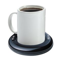 This mug warmer so that every sip is hot. | 21 Random Life-Changing Things Under $10 Our Readers Actually Swear By