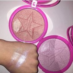 Peach Goddess and Princess Cut highlighters by Jeffree Star