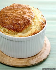 Parmesan Cheese Souffle:  The ultimate crowd pleaser. Great with other cheeses too.