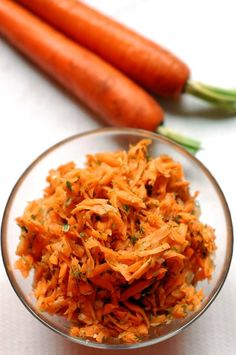 Mézes sárgarépa saláta - Fűszer és Lélek