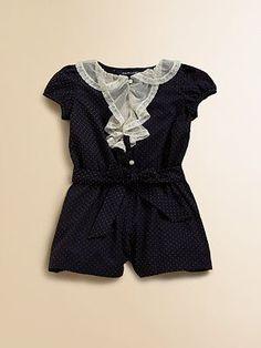 Ralph Lauren Swiss Dot Romper #babyclothesgirl