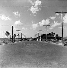 Via Cristoforo Colombo dopo il 1952