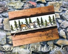 Let It Ride Quick Watercolor Masculine Card with Video Tutorial