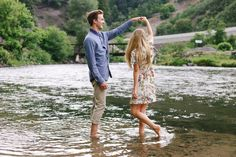 Best for: Natural environment photo session. Love these outfits, they go perfect together and work well with the environment. I would switch the blue shirt out with something more neutral, however.