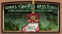 Free all-in-the-hoop stocking design from Sandy Lightfoot.com. I'm making these without the teddy bear inserts and putting cash, candy canes, and gift cards instead. Embroidery kids' names instead of year.