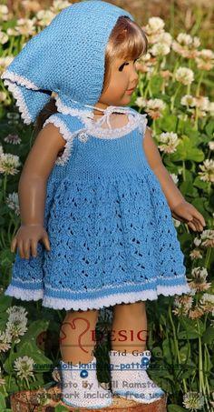 Målfrid Gausel's dolls dress patterns