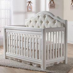 Cristallo Forever Crib in Vintage White from PoshTots
