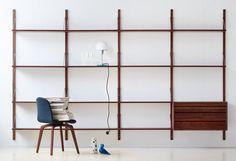 Royal System - drawer unit, 1948 Designed by Poul Cadovius Manufactured by DK3