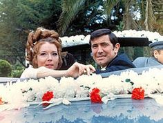Mrs. and Mr. Bond. Diana Rigg and George Lazenby - On Her Majesty's Secret Service