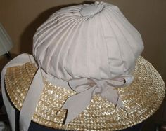 Regency bonnet, step by step, by myaustendreamworld.com