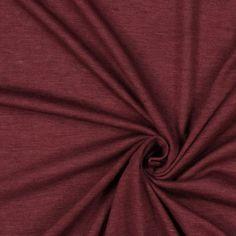 Single Jersey 454 - Viscose - Élasthanne - rouge bordeaux