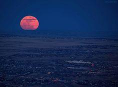 Full moon over CO by Lars Leber