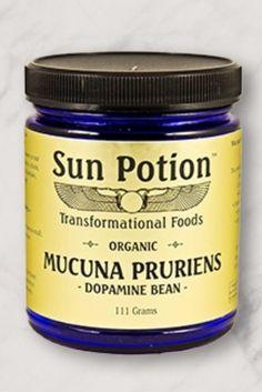 "Mucuna pruriens ""dopamine beans"" from Sun Potion"