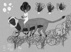 The Gambler - illustration by Rita Fürstenau