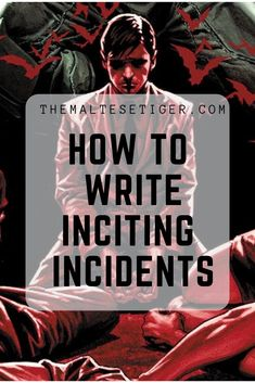 Learn how to kick off your story! How to write inciting incidents. Writing Tips for Beginners Creative Writing Prompts, Book Writing Tips, Writing Resources, Writing Skills, Writing Help, Writing Images, Writing Words, Fiction Writing, Writing Quotes