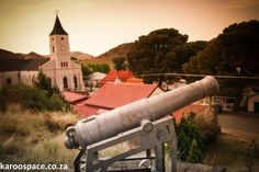 Philippolis is a Free State gem, the kind of town you visit once and decide to live in for the rest of your life. Free State, Cannon, Places Ive Been, South Africa, Country, Writer, Van, Spaces, Vans