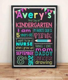 First day of school chalkboard,chalkboard sign,kindergarten,pre k,JK,SK,1st day of school, back to school,september by Opheliafpg on Etsy https://www.etsy.com/listing/247299291/first-day-of-school-chalkboardchalkboard