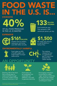What is the cost of food waste? This infographic shows the issues and costs of food waste, hunger, and environmental impact. We work to and in Food Tracker App, Plastik Recycling, Holiday Recipes, Great Recipes, Healthy Food Alternatives, Waste Reduction, World Hunger, Food Insecurity, Reduce Waste