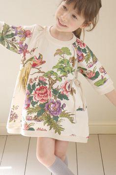 I know it's for little girls, but I want it | Sweven Kimono Dress in PoppysCloset.com