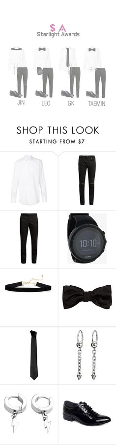 """""""SA Red Carpet"""" by cherrybomb-official ❤ liked on Polyvore featuring Dolce&Gabbana, Yves Saint Laurent, Suunto, Alexander McQueen, Versace, men's fashion and menswear"""
