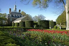 Governors Palace Gardens - Colonial Williamsburg
