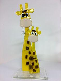 giraffer mor og barn