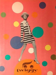 Twiggy paper doll - Whitman