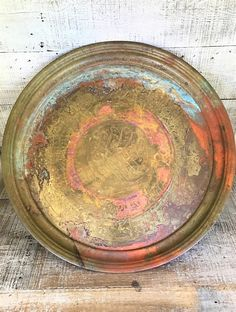 Brass Tray Exra Large Brass Serving Tray Brass Wall Hanging