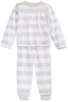 74bc75b0e6 Family Pajamas Boys  or Girls  Neo Stripe Knit Pajama Set