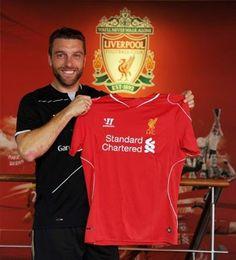 Welcome to Liverpool Rickie Lambert