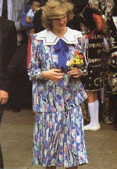 Princess Diana - The Albany Centre à Deptford , le 23 mai 1984 _ Suite