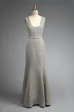 Cocteau dress - Elsa Schiaparelli - part of ensemble with jacket. So simple. So elegant. Just beautiful. 1937