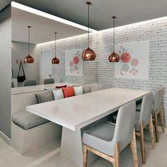 Modern German corner - 30 ideas - Simple Decoration - Lilly is Love Home Room Design, Home Design Plans, House Design, Home Decor Styles, Cheap Home Decor, Small Apartment Interior, Dinner Room, Living Room Tv, Cuisines Design