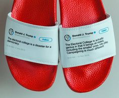 Donald Trump tweet flip flops