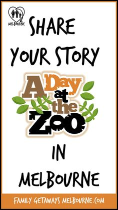 Share your favorite Melbourne Zoo Stories and experiences, easily create your very own web page to share with friends and family Melbourne Zoo, Visit Melbourne, Melbourne Australia, Funny Family Photos, Australia Animals, Social Media Buttons, Family Getaways, What Do You See, Animal Species