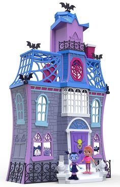 Vampirina's Scare B&B playset, comes with four figures, ages 3 to 6