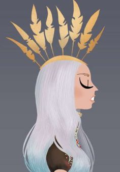 Mother Monster Portraits by Adrian Valencia #art #illustration #gaga
